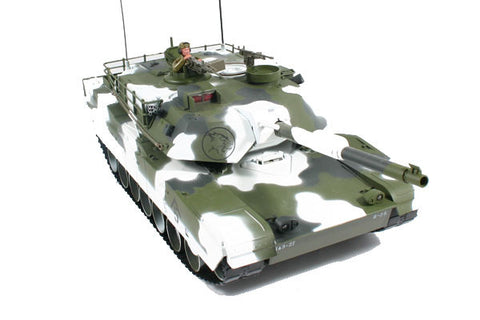 Hobby Engine Premium Label RC M1A1 Abrams RC Tank - Winter