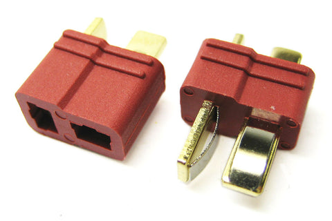 Etronix Deans Plugs Male/Female (1Pr)