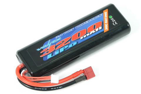 Voltz 3200mAh 7.4V Hard Case LiPo Stick Battery Pack