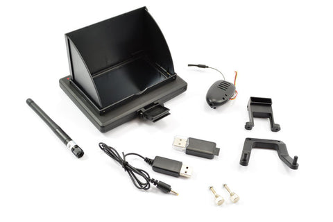 XK INNOVATIONS XK250 5.8GHZ FPV SCREEN & CAMERA SET