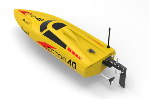 Volantex Vector 40 Brushless RC Boat (Yellow) - RTR