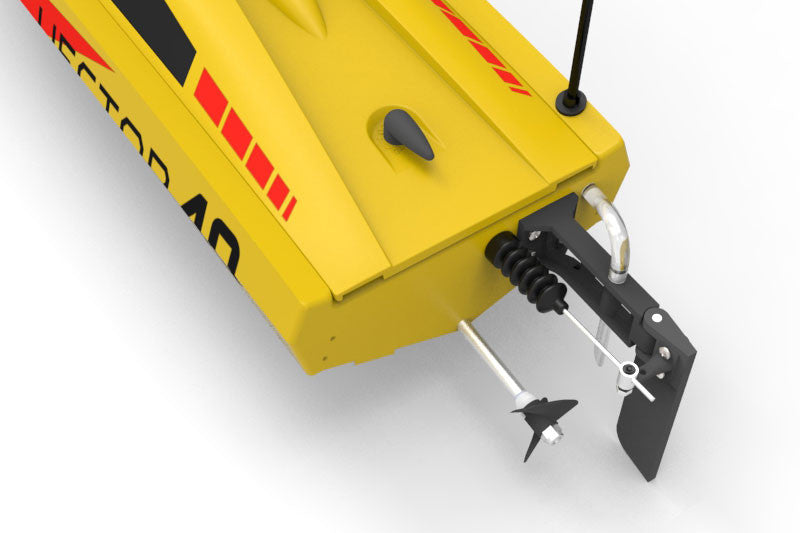 Volantex Vector 40 Brushed RC Boat (Yellow) - RTR