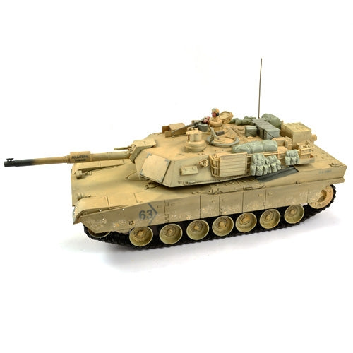 Hobby Engine Premium Label M1A2 Abrams 2.4GHz RC Tank - Desert