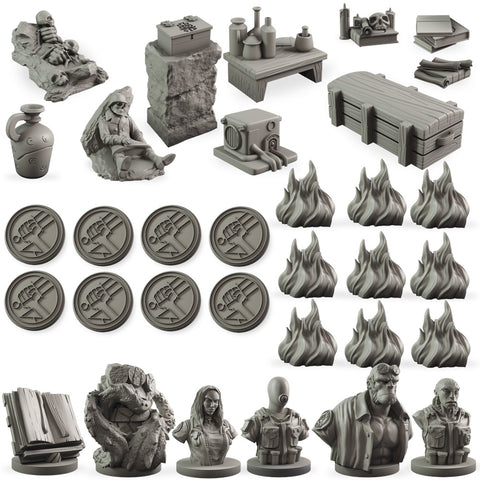 Hellboy:  The Board Game Counter Upgrade Set