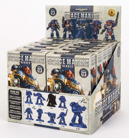 Warhammer 40K Space Marine Heroes  - Single Blind Box