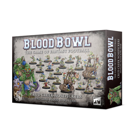 Blood Bowl - Crud Creek Nosepickers – Snotling Blood Bowl Team