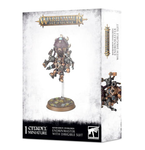 Warhammer Age of Sigmar Kharadron Endrinmasterin Dirigible Suit