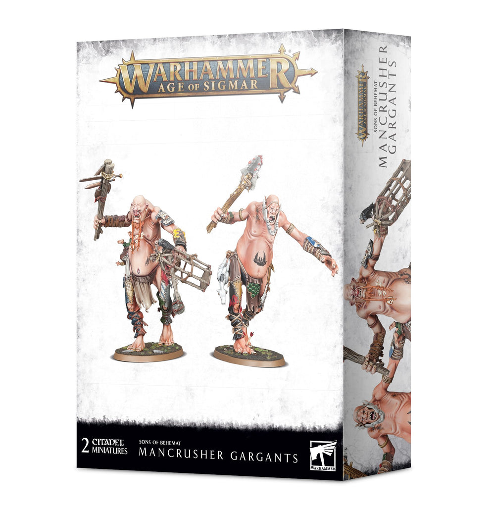 Warhammer Age of Sigmar Mancrusher Gargants