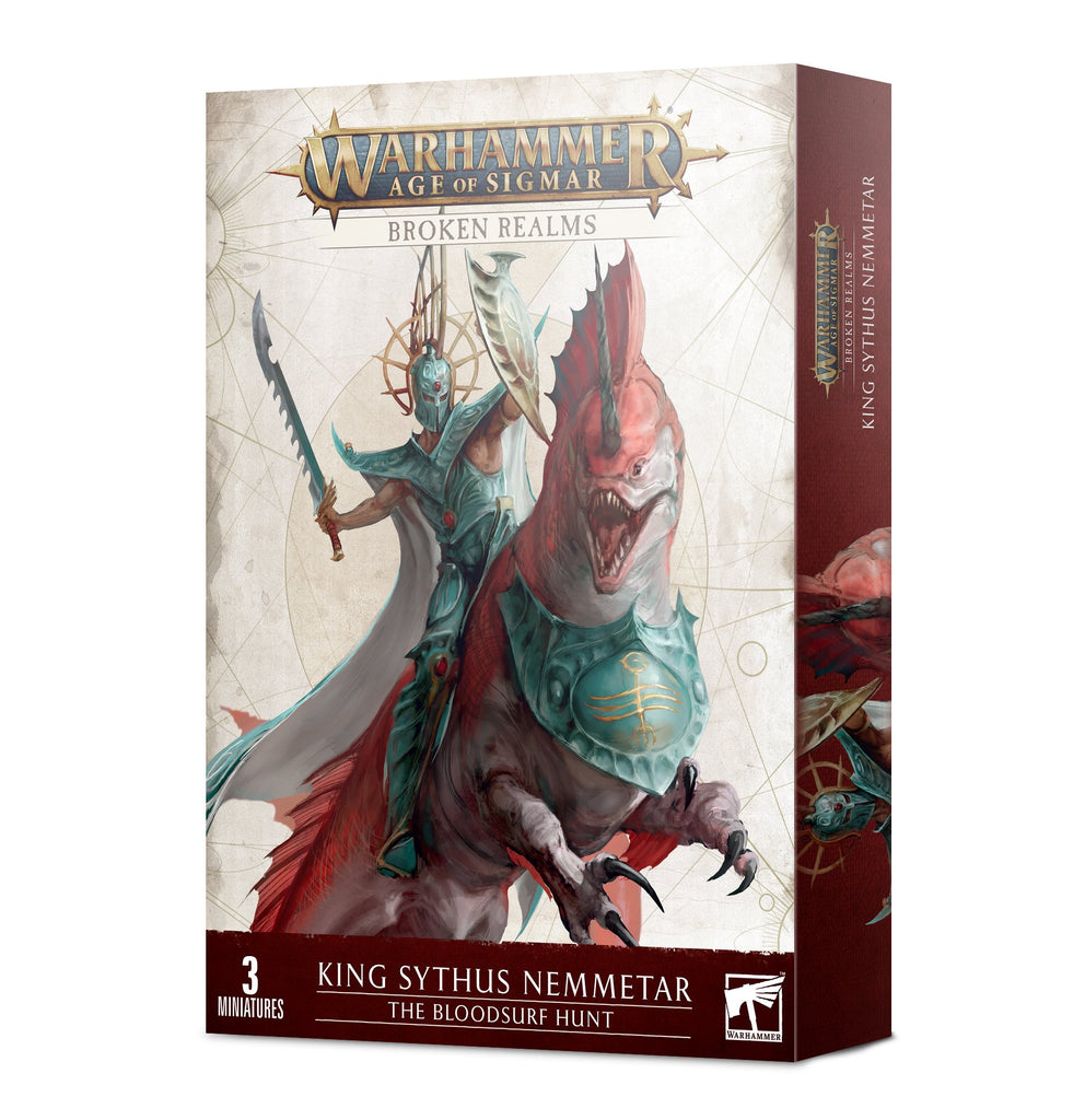 Warhammer Age Of Sigmar Broken Realms: King Sythus Nemmetar – The Bloodsurf Hunt