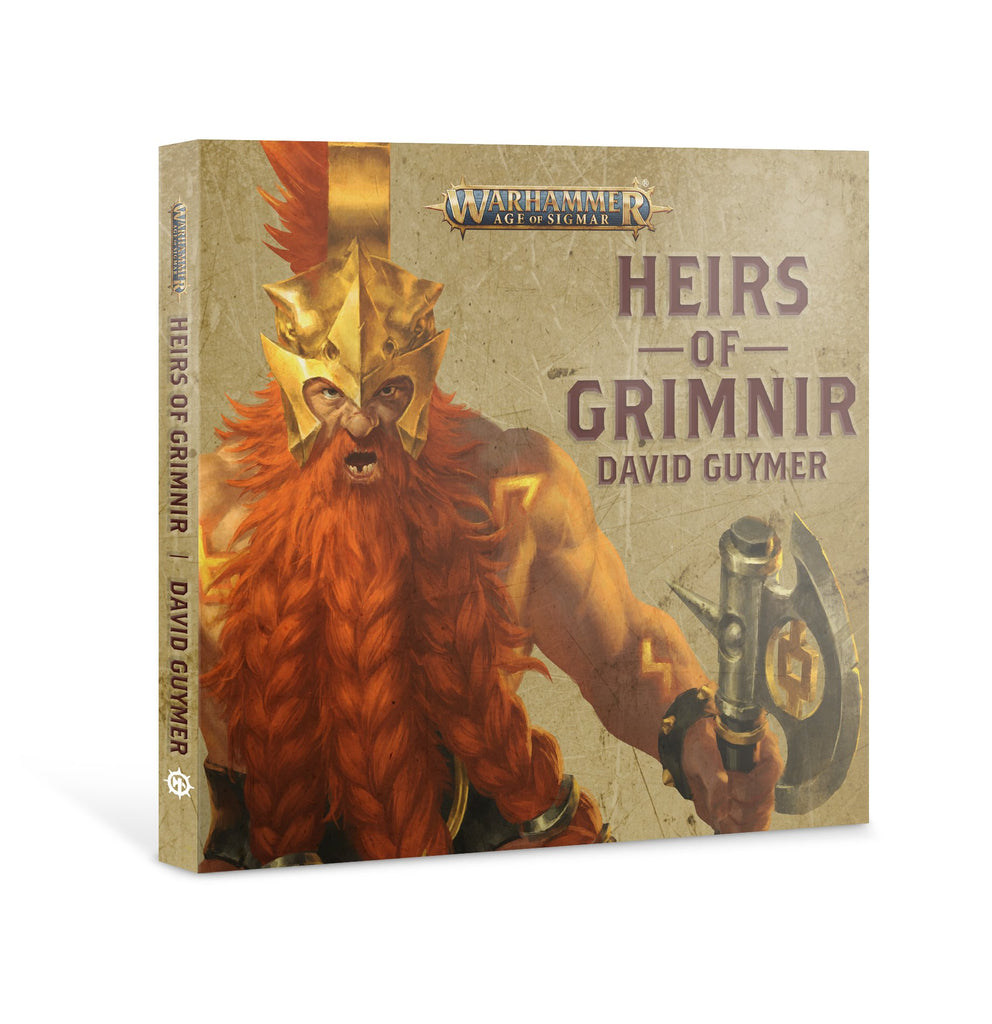 Age of Sigmar Heirs of Grimnir (CD) (Audio Book)