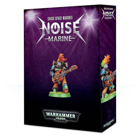 Warhammer 40K Chaos Space Marines Noise Marine