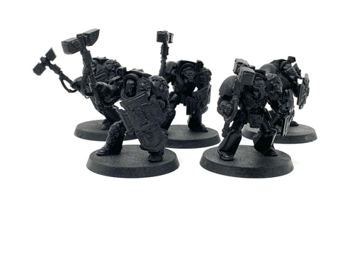 Warhammer 40k USED Space Marine Terminator Assault Squad