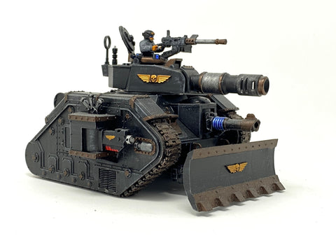 Warhammer 40K USED Imperial Guard Leman Russ Battle Tank #0