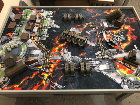 Gamemat.eu 6'x4'G-Mat: Deathworld Forge