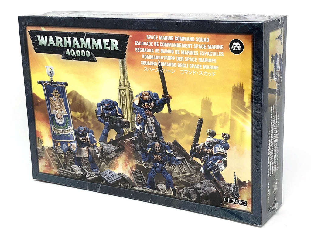 Warhammer 40K Space Marine Command Squad