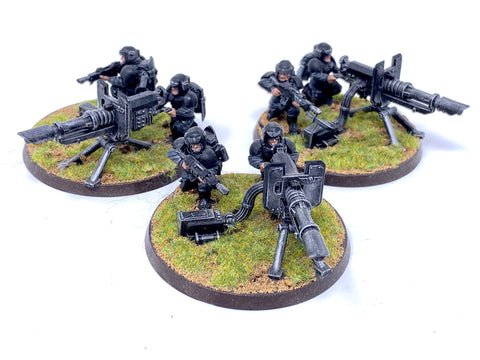 Warhammer 40K Cadian Heavy Weapon Squad (USED)