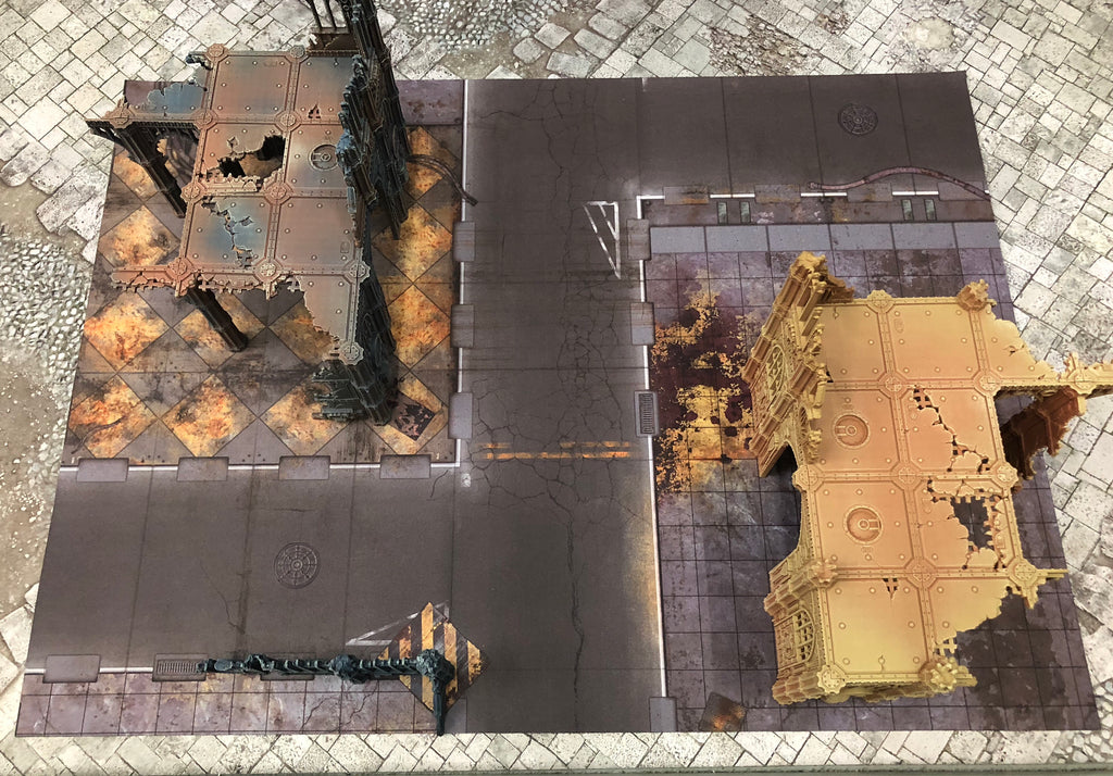 "Kill Team Double Sided Quarantine and Fallout Zone (22"" x 30"")"