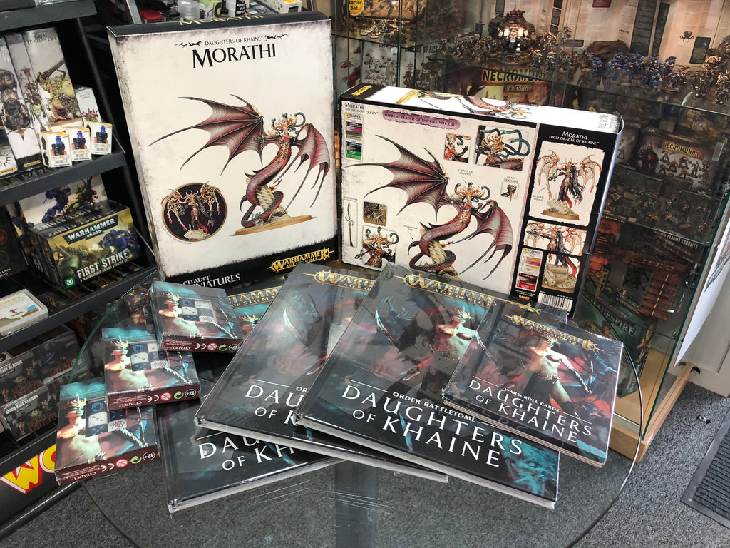 Warhammer Age of Sigmar Battletome: Daughters of Khaine