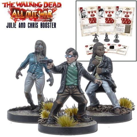 THE WALKING DEAD: JULIE AND CHRIS BOOSTER