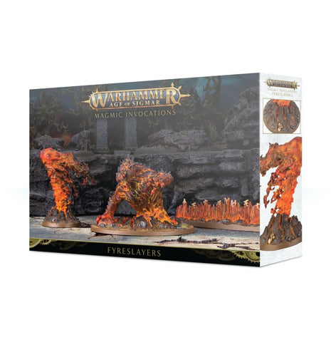 Warhammer Age of Sigmar Fyreslayers Magmic Invocations