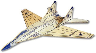 West Wings Mig 29 Fulcrum Balsa Kit