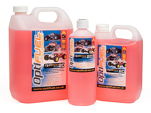 Optifuel Nitro RC Car Fuel 20% - 2.5 Litres (1/2 Gallon)