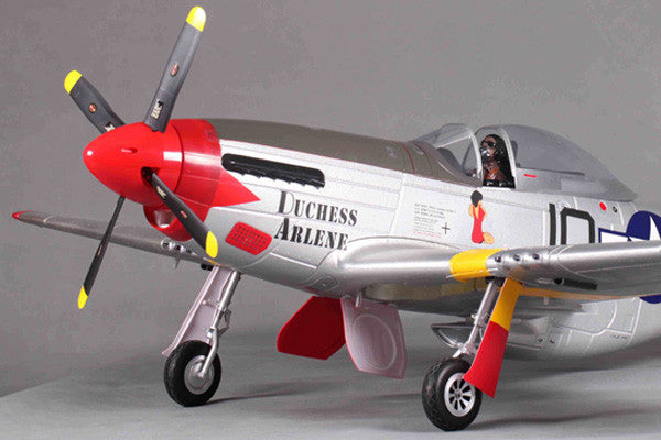 FMS P51 Mustang ' Red Tail (1440mm) - ARTF
