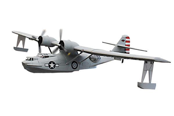 Dynam PBY Catalina (1470mm) Grey Scheme - ARTF