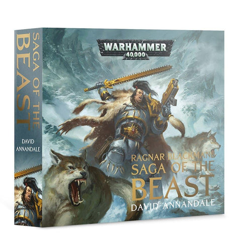 Warhammer 40k Ragnar Blackmane, Saga of the Beast (Audio Book)