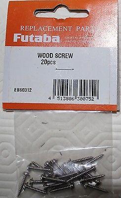 Futaba Servo Screws (20pcs)