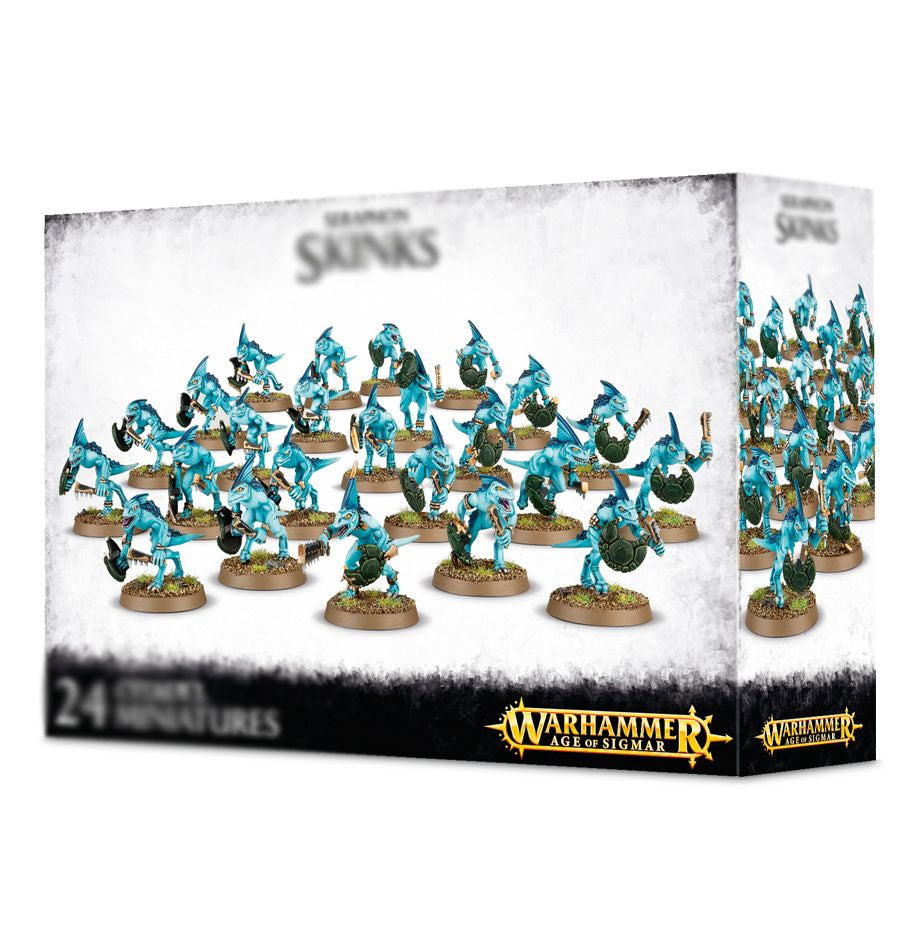 Warhammer Age of Sigmar Skinks