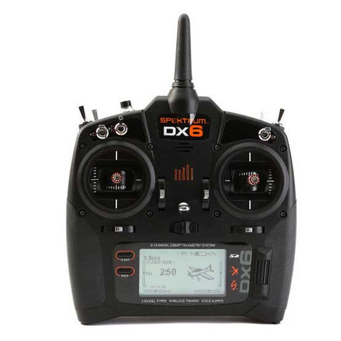 Spektrum DX6 6-Channel Radio Set DSMX Transmitter with AR610 Receiver