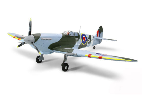 DYNAM SPITFIRE MKIX W/RETRACTS 1200MM W/O TX/RX/BATT