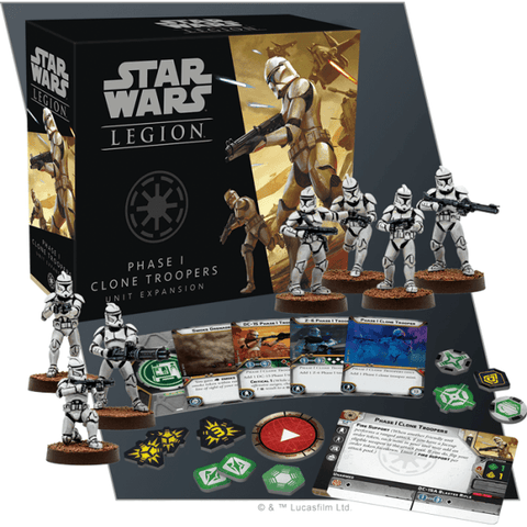 Phase 1 Clone Troopers Unit Expansion: Star Wars Legion