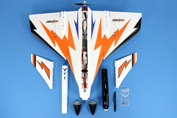 ROC HOBBY SWIFT PUSHER JET W/2.4GHZ RTF HIGH SPEED VERSION