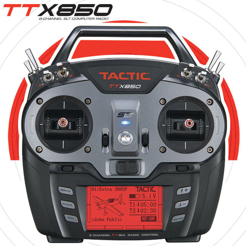 Tactic™ TTX850 8-Channel SLT™ Radio Set