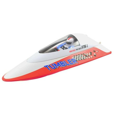 Volantex Tumbler Mini Racing RC Boat RTR - Red