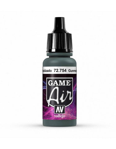 Vallejo Game Air Gunmetal 17ml