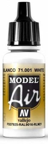 Vallejo Model Air White 17ml