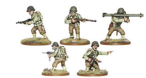 Bolt Action WWII American Infantry Plastic Box Set