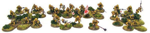 Warlord Games WWII Japanese Infantry Plastic Model Kit