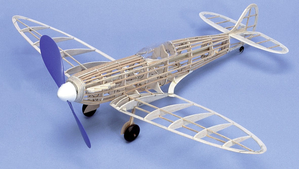 West Wings Wingleader Series Spitfire Mk. 1 Balsa Kit