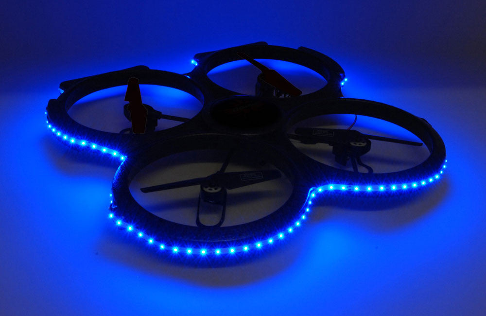 UDI U829A Drone - LED Lights Blue