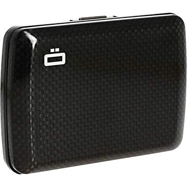 Ogon Carbon Fiber Wallet  ID & Card Case Wallet for Men  Rfid Safe  Credit Card Holder