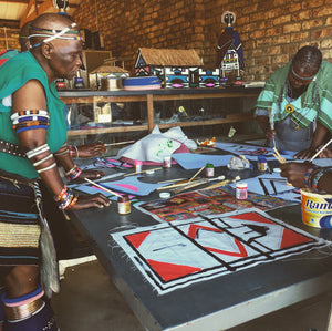 Proud to announce our new collaboration with the Ndebele Tribe!