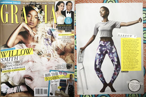 SPIRITGIRL IN GRAZIA MAGAZINE'S, RAISE THE BARRE FEATURE