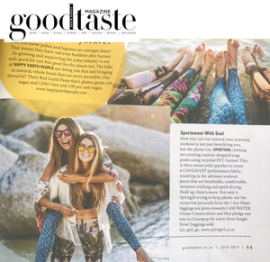 Spiritgirl in Goodtaste Magazine