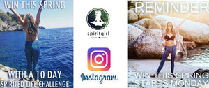 SPIRITGIRL'S SPIRITLIFE INSTAGRAM CHALLENGE, OUR EXPREIENCE AND WINNER REVEALED