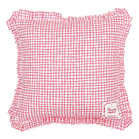 CUSHION COVER Frederikke Raspberry