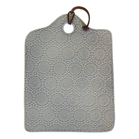 CUTTING BOARD Liva Warm Grey Stoneware